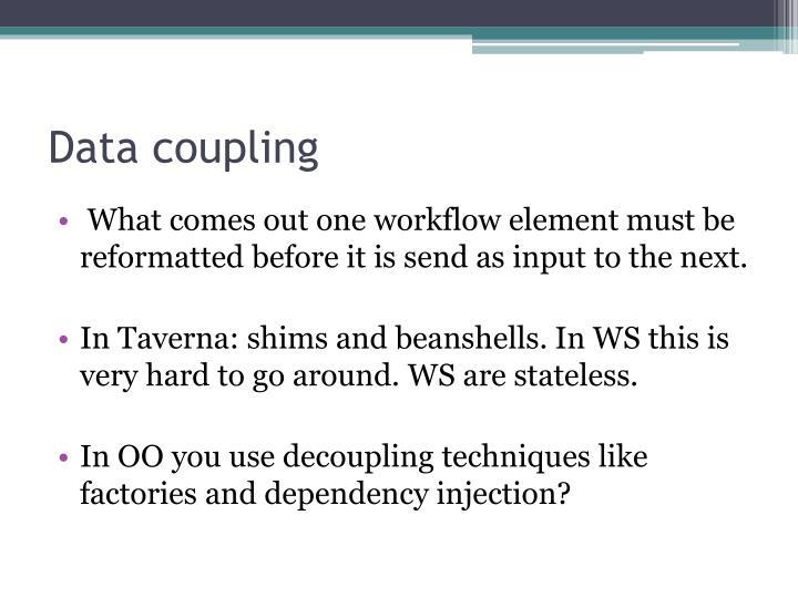 Data coupling