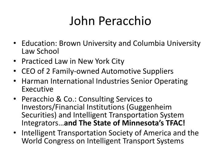 John Peracchio