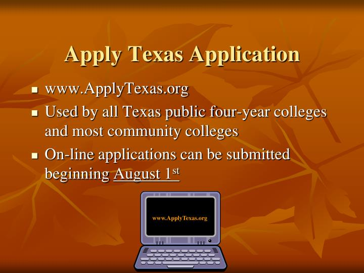 Apply Texas Application