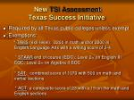 new tsi assessment texas success initiative