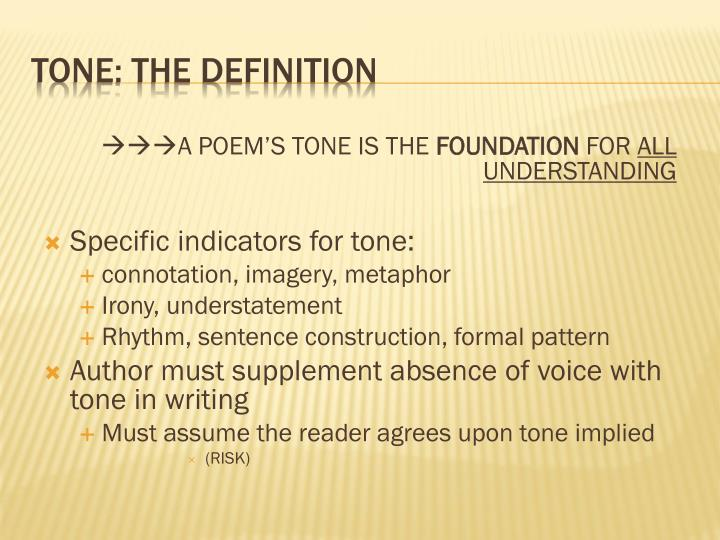 Tone the definition1