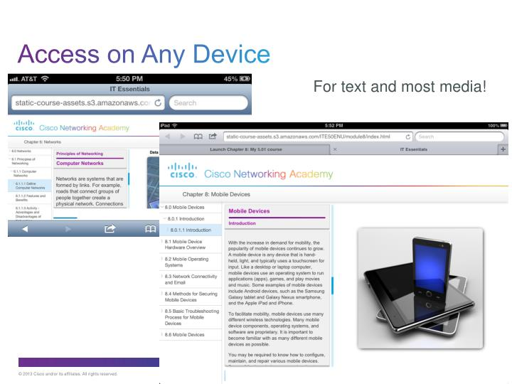 Access on Any Device