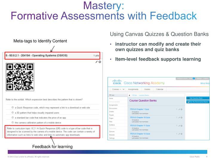 Mastery: