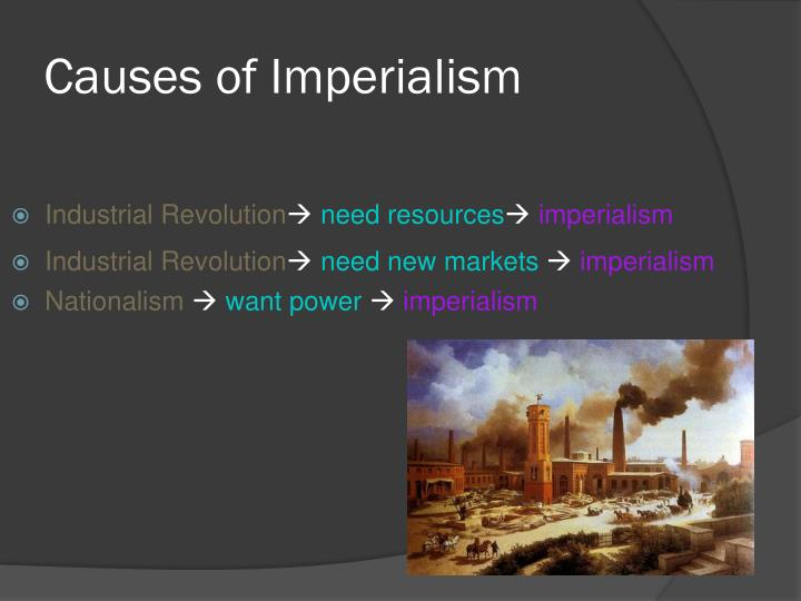 how far was imperialism the cause European imperialism in africa was partly due to rivalries between the  in egypt  created a much shorter route between the united kingdom.