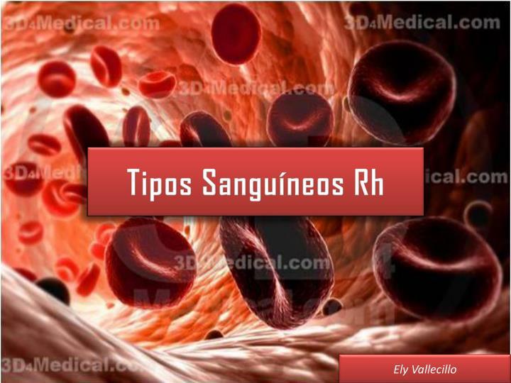 Tipos Sanguíneos Rh
