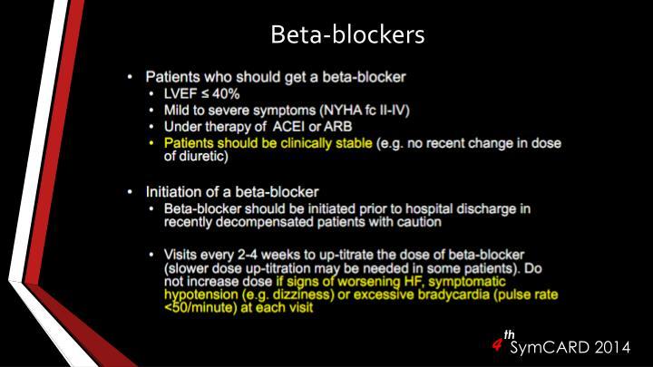 Beta-blockers