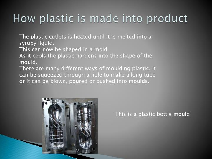 How plastic is made into product