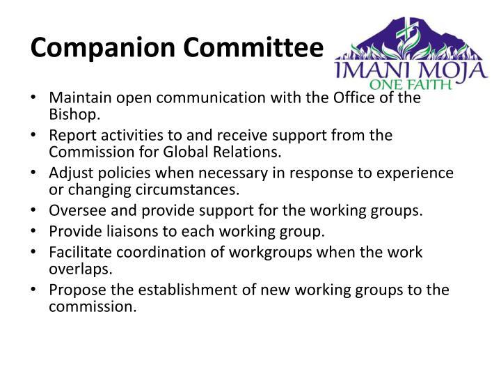 Companion Committee