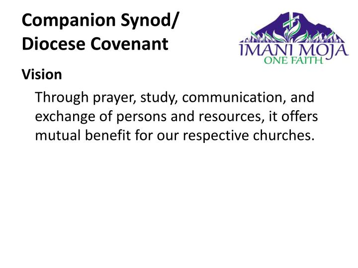 Companion synod diocese covenant1