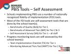 pbis tools self assessment