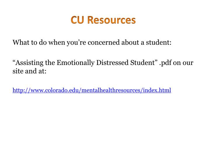 Cu resources