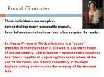 round character