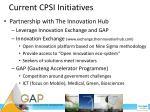 current cpsi initiatives2