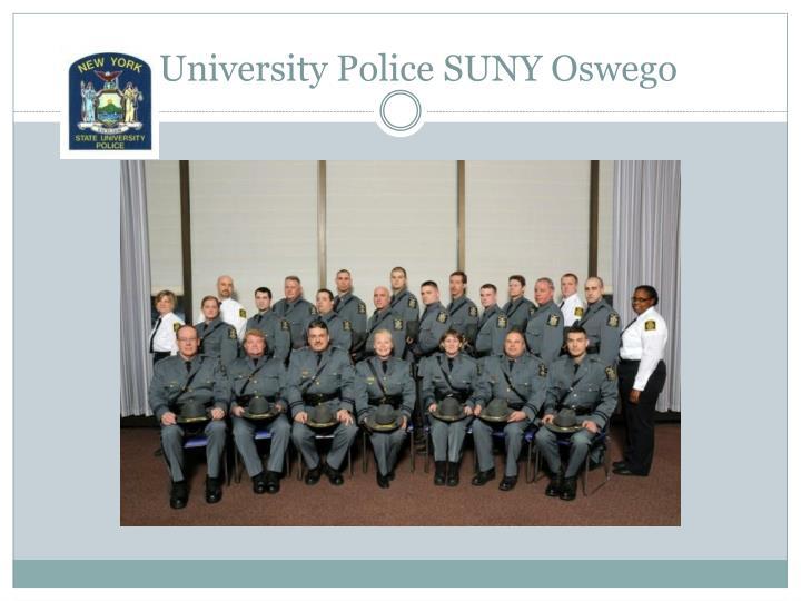 University Police SUNY Oswego