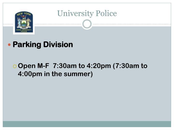 University Police