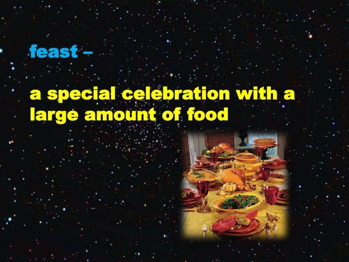 feast –