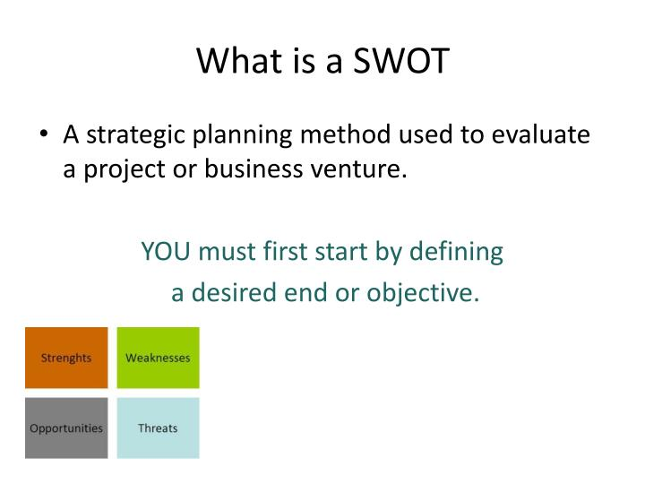 What is a SWOT