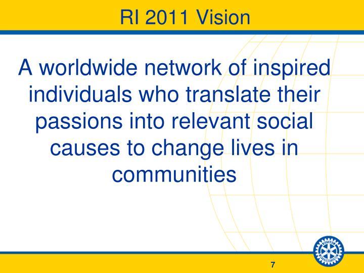 RI 2011 Vision