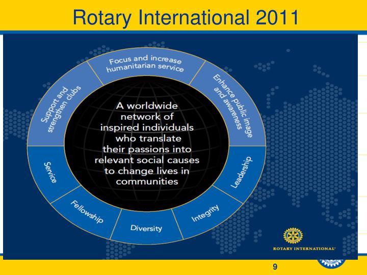 Rotary International 2011