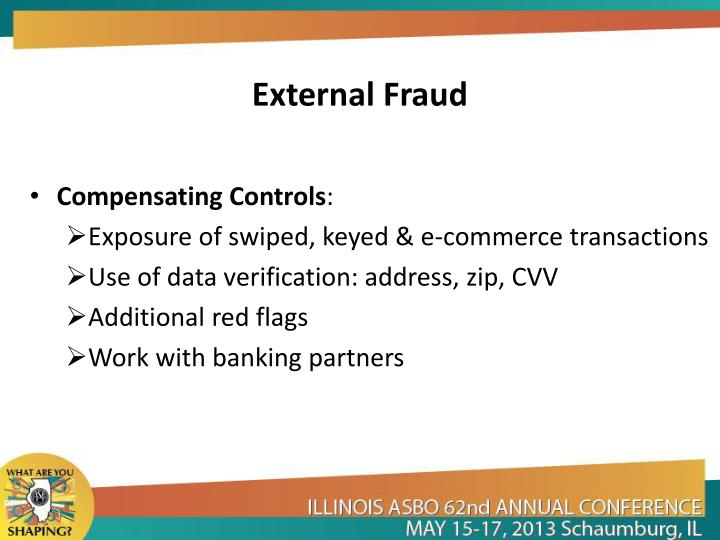 External Fraud