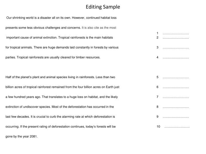 Reminiscence essay example