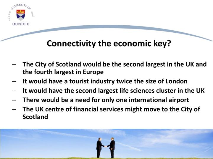 The City of Scotland would be the second largest in the UK and the fourth largest in Europe