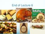 end of lecture 6