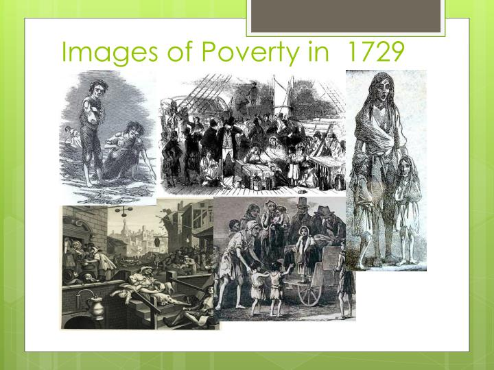 Images of Poverty in  1729