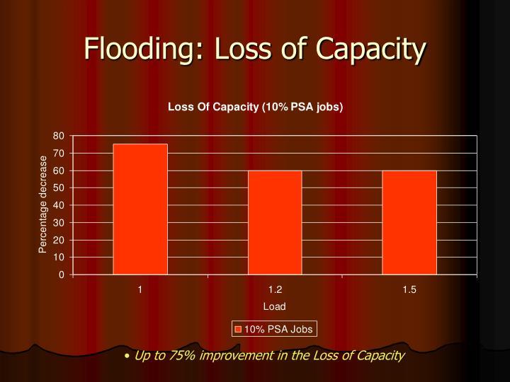 Flooding: Loss of Capacity