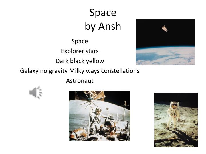 Space by ansh