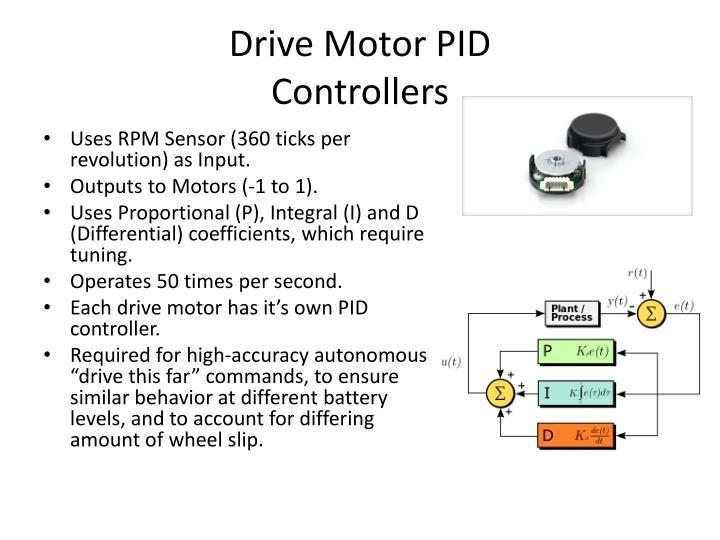 Drive Motor PID