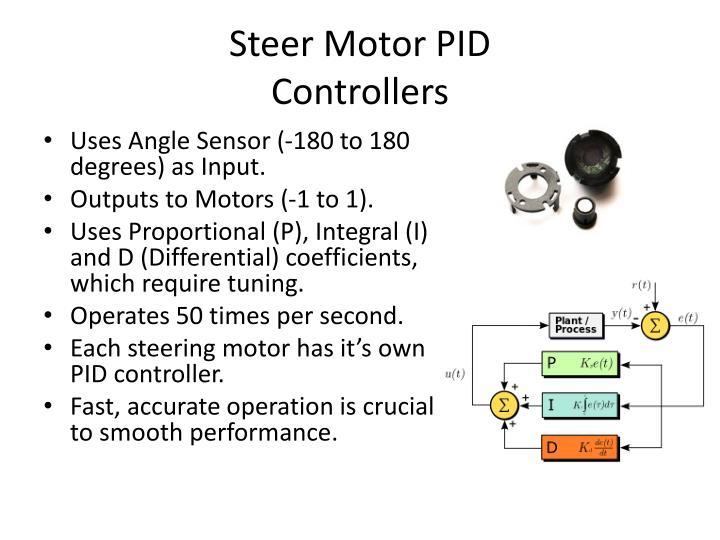 Steer Motor PID