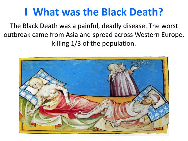 I what was the black death