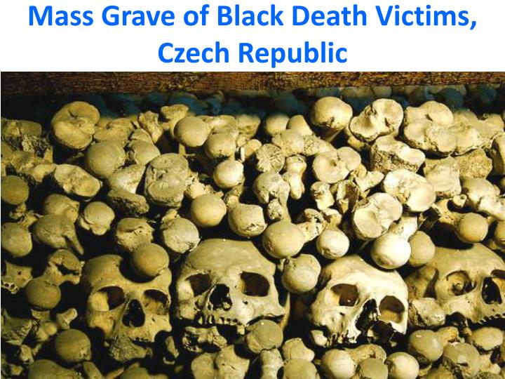 Mass Grave of Black Death Victims, Czech Republic