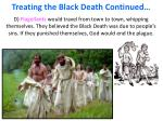 treating the black death continued1