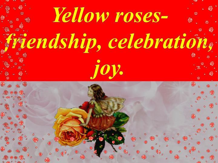 Yellow roses-f