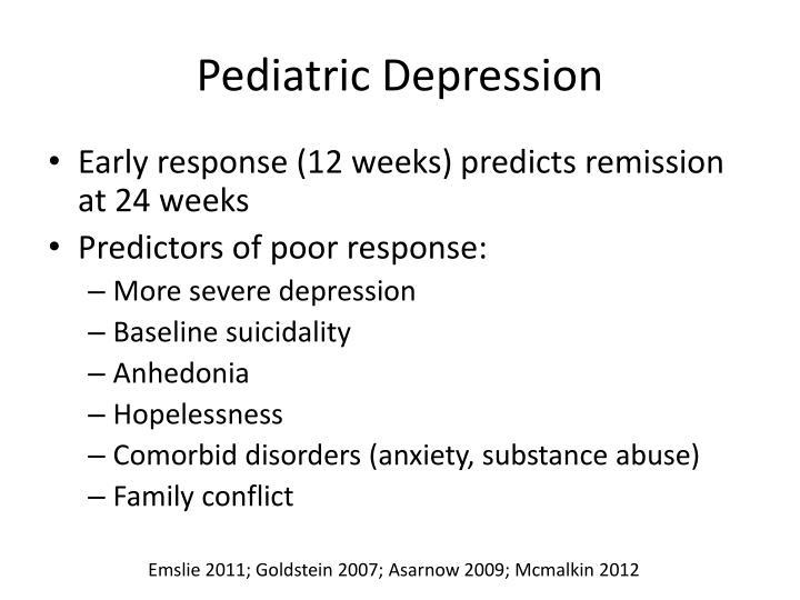 Pediatric Depression