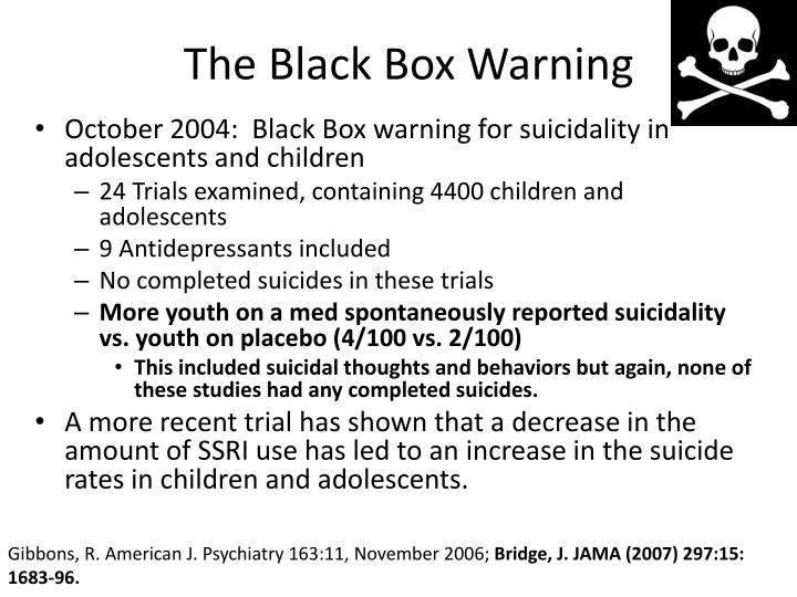 The Black Box Warning