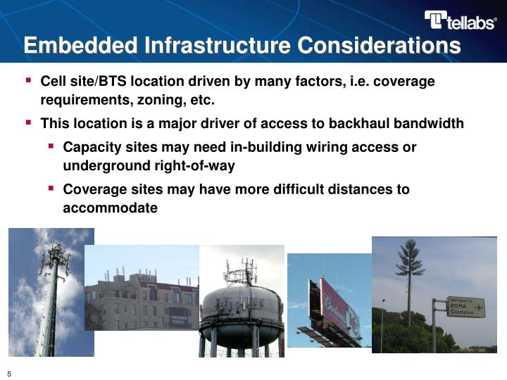 Embedded Infrastructure Considerations