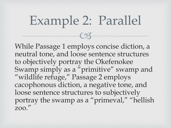 Example 2 parallel