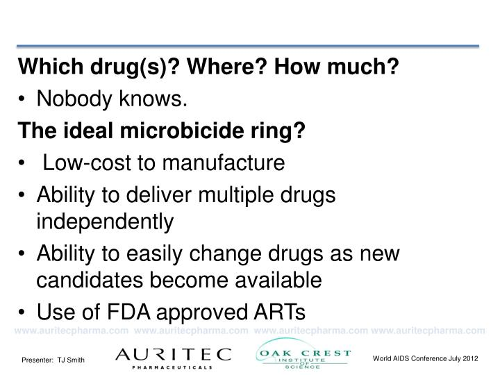 Which drug(s)? Where? How much?
