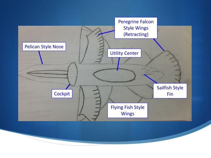 Peregrine Falcon Style Wings (Retracting)