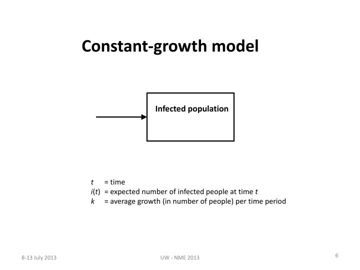 Constant-growth model
