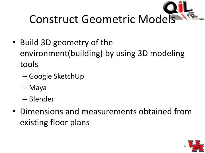 Construct Geometric