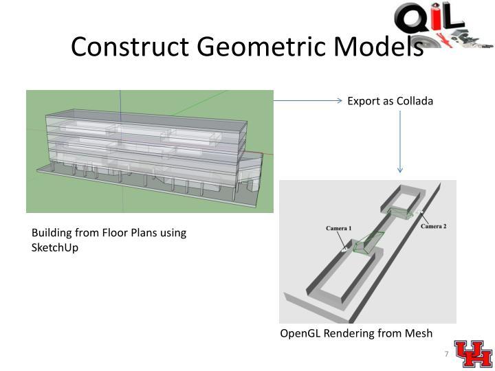 Construct Geometric Models