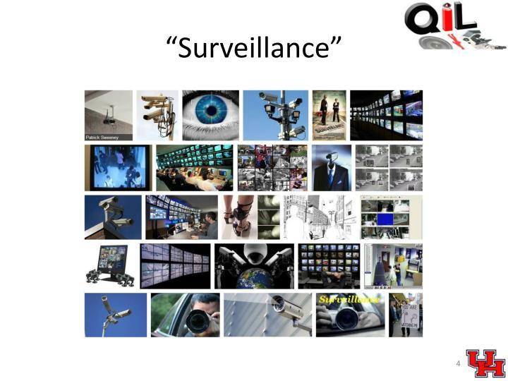 """""""Surveillance"""""""
