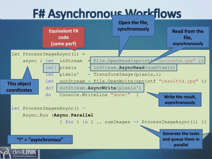 F# Asynchronous Workflows