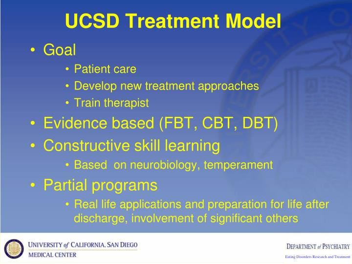 UCSD Treatment Model