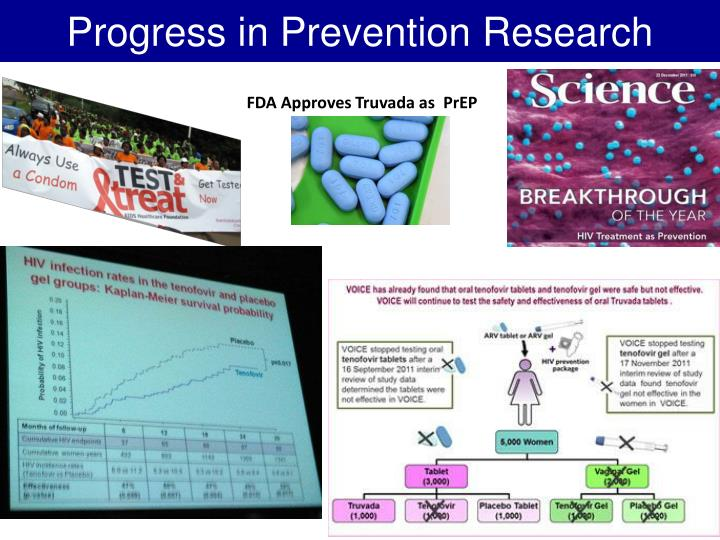 Progress in prevention research