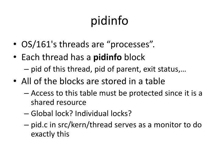 pidinfo